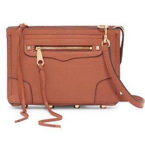 Rebecca Minkoff Regan Crossbody Bag Brick Leather
